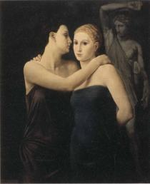 Ubaldo Oppi, Le amiche, mostra Ritratto di donna