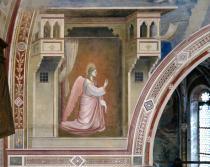 affresco della Cappella degli Scrovegni con l'Angelo annunciante