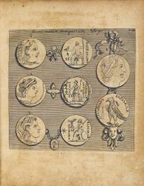 6. Christopher Wren, Numismatum antiquorum sylloge populis Graecis, municipiis, & coloniis Romanis cusoru, Londini, 1708 (Biblioteca Universitaria di Padova)