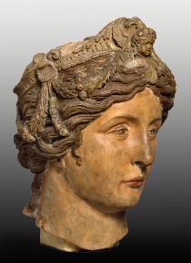 Andrea Briosco detto il Riccio, testa di Madonna