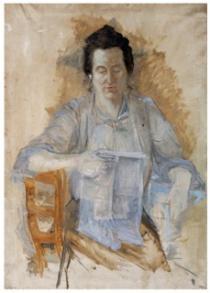 Ritratto di Antonietta Giacomelli