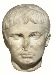testa di Augusto