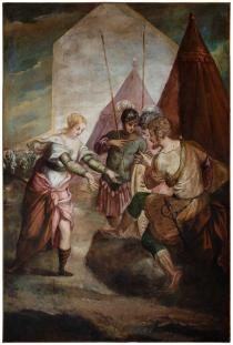 Briseide rimprovera Achille
