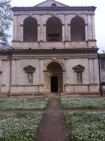 facciata dell'Odeo