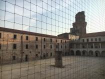 veduta del cortile del Castello