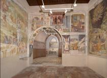 interno dell'Oratorio di San Michele