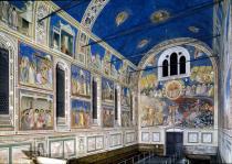 interno della Cappella degli Scrovegni