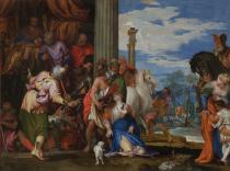 Paolo Caliari detto il Veronese, Martirio di S. Giustina