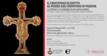 Il Crocifisso di Giotto al Museo agli Eremitani di Padova