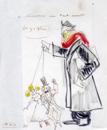 Felleini, Autoritratto con Ginger