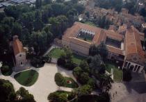 Veduta aerea dei Musei Civici