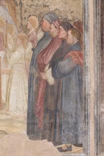 particolare degli affreschi