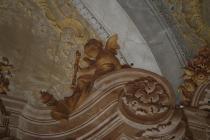 Ospiti a Palazzo Mussato. Concerto a Palazzo-altro particolare di affresco