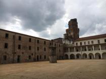 piazza interna del Castello carrarese