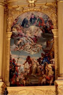Paolo Caliari detto il Veronese, Pala di Santa Giustina