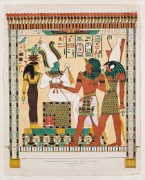 Tomba di Seth I particolare da Viaggi in Egitto e in Nubia, Milano 1825