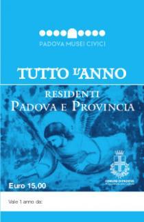 carta residenti Padova e provincia