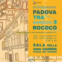 Ricordando Padova tra Barocco e Rococò-immagine