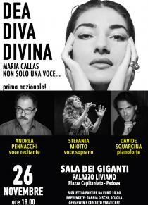 Dea, Diva, Divina.... Maria Callas. Non solo una voce