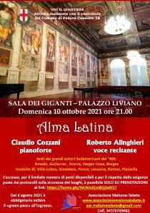Alma Latina. Concerto e spettacolo con voce recitante