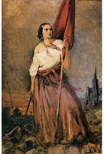 ALEGORIA da Revolução - Anita Garibaldi, ENCICLOPÉDIA Itaú Cultural de Arte e Cultura Brasileiras. São Paulo: Itaú Cultural, 2021