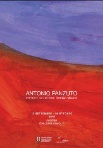 ANTONIO PANZUTO. Pitture Sculture Scenografie