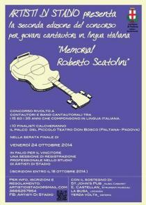 Artisti di Stadio 2014-IIa edizione Memorial Roberto Scatolini