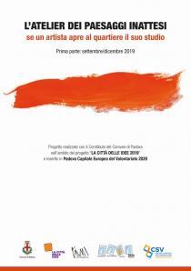 L'ATELIER DEI PAESAGGI INATTESI. Programma settembre - dicembre 2019