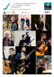 Homenaje. 1° Festival Internazionale di Chitarra classica