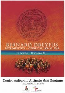 BERNARD DREYFUS. Retrospettiva - Opere dal 1969 al 2016