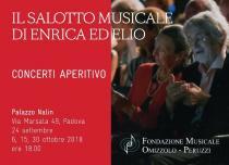 Il salotto musicale di Enrica ed Elio. Concerti-Aperitivo a cura della Fondazione Omizzolo Peruzzi