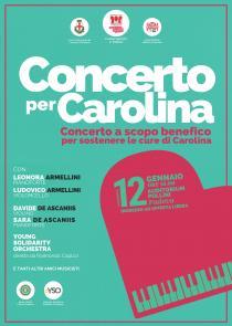 Concerto per Carolina. Evento benefico