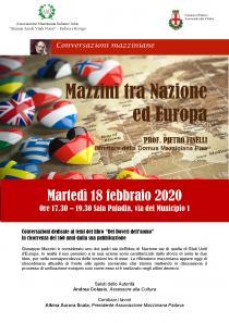 Conversazioni mazziniane 2020-02-18