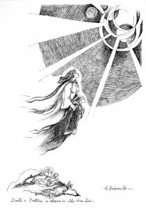 Alberto Bolzonella. Visioni sulla Divina Commedia