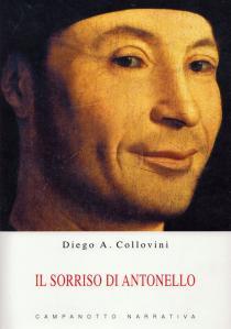 """Cover libro """"Il sorriso di Antonello"""" di Diego Antonio Collovini"""