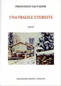 Copertina libro di Francesco Salvador _ Una fragile eternità