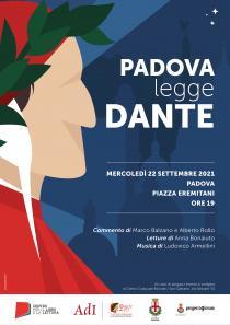 Padova legge Dante locandina