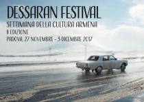 Dessaran Festival 2017. Settimana della cultura armena-IIa edizione