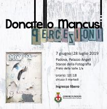 Donatello Mancusi. Percezioni