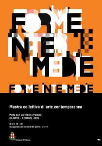 FORME INTERMEDIE. Mostra collettiva di arte contemporanea