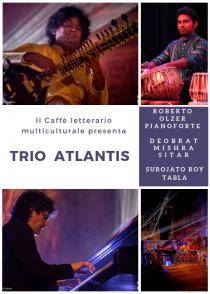 Trio Atlantis in concerto. Caffè letterario multiculturale