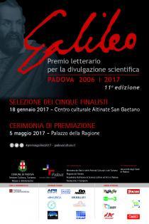 Premio Letterario Galileo 2017-XI edizione