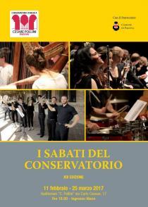 I Sabati del Conservatorio 2017. XIX edizione