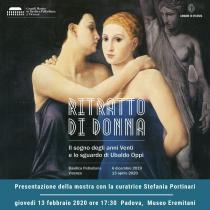 """Presentazione della mostra """"Ritratto di donna. Il sogno degli anni Venti e lo sguardo di Ubaldo Oppi"""""""