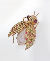 Ferdinando Sandi-gioiello  a forma di insetto