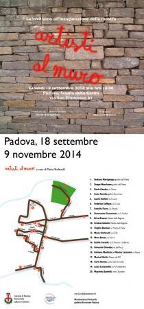 Collettiva Artisti al Muro 2014-IIIa edizione