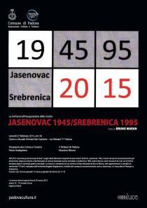 JASENOVAC 1945 / SREBRENICA 1995-Bruno Maran