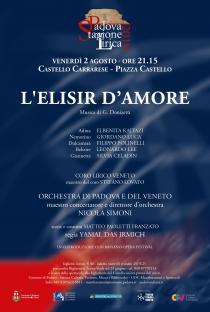 L'Elisir d'Amore di G. Donizetti. Stagione Lirica 2019