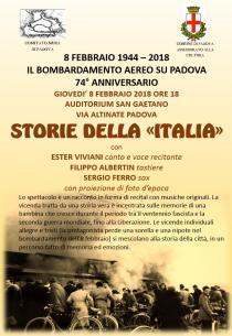 Storie della Italia. Memoria in musica della Padova della guerra