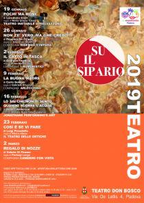 Su il Sipario 2019. Rassegna di teatro a cura di A.T.A. TeatroPadova
